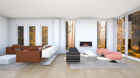 Nick Miller TV room Como - by DWRSoho