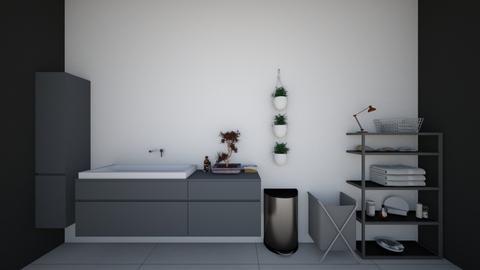 Modern Bathroom - Modern - Bathroom  - by Wolf Designs