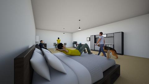 Mac Romero Mendoza - Classic - Bedroom  - by waverom08