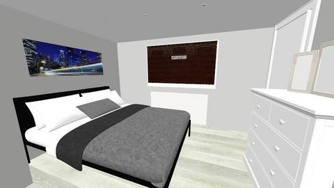 Loft Dormer 2 Forniture - Modern - Bedroom  - by stefanomagistri