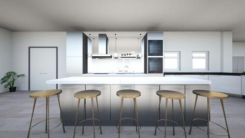 hii - Modern - Kitchen  - by ely_