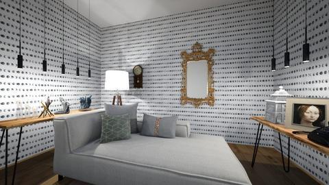 siyah - Living room  - by hicran yeniay