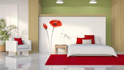 Poppies - Bedroom - by LB1981