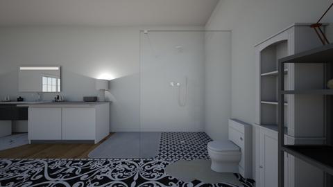 Mansion Bathroom - Modern - Bathroom  - by Eclxpse