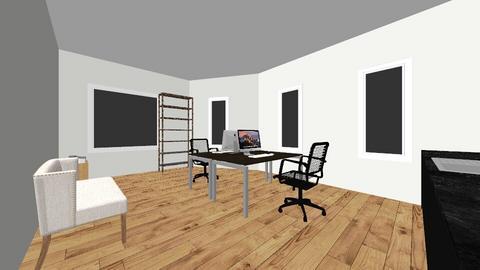 birou mic - Office - by ungureanualexandra90
