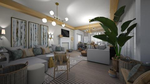test1 - Living room  - by MihaelK