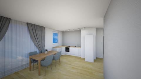 Kuchnia C - Living room - by KatarzynaLaszczyk