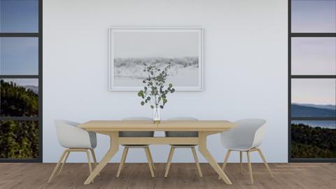 Scandi dining room - Dining room  - by yellowAri