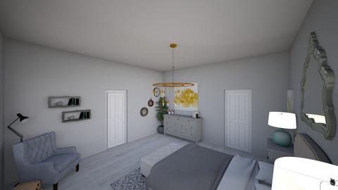 Shabby Chic - Bedroom - by Mari_Torrez01