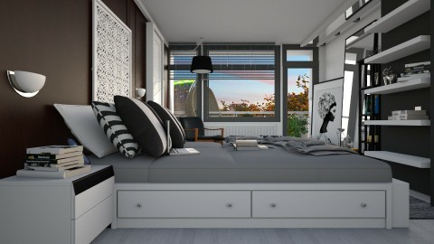 Redesign just in case - Modern - Bedroom  - by pachecosilv
