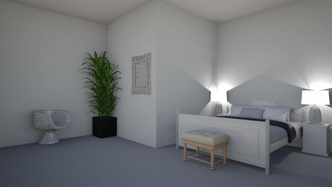 Black and white  - Bedroom  - by Lucy_lover