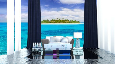 Out at Sea - Modern - Living room  - by InteriorDesigner111