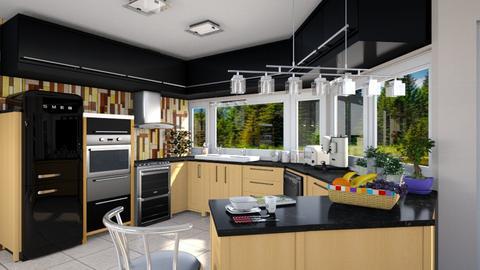 Angular Kitchen - Modern - Kitchen - by Bibiche