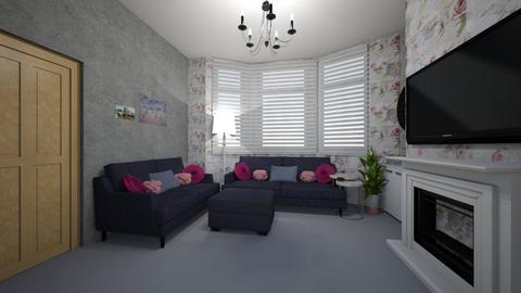 living room 3 design - Living room  - by loisep1999