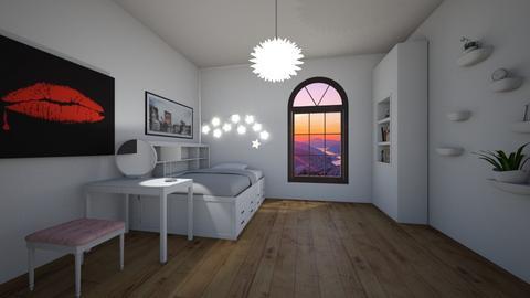 Girl - Feminine - Bedroom - by Twerka