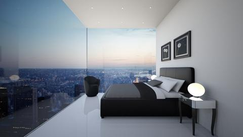 NY Bedroom - Modern - Bedroom - by deleted_1594051217_athinaste89