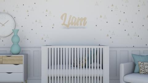 Liams Nursery - Kids room  - by weinsteinkids