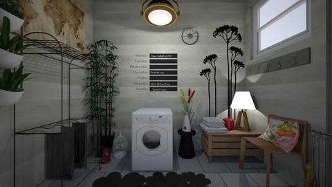 laundry room 1 - Vintage - by GeGe Kanthip