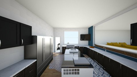 dream kitchen 2 v1 - Eclectic - Kitchen  - by TColl3