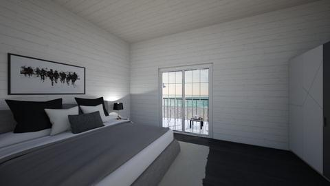 Luxurious black and white - Modern - Bedroom  - by Agamanta