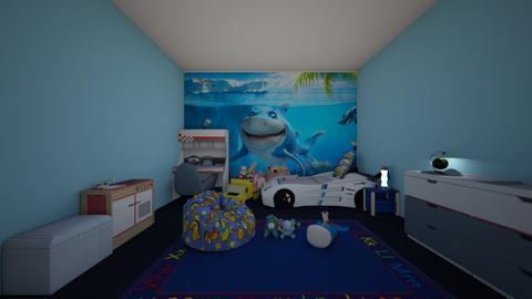 Boys Bedroom Design - Bedroom  - by Mila dimitrova