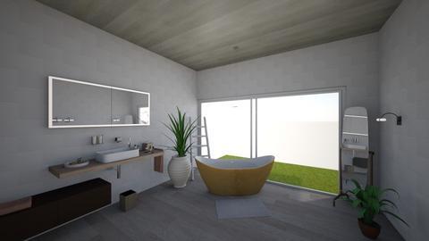 Design  - Minimal - Bathroom  - by lifexsoul