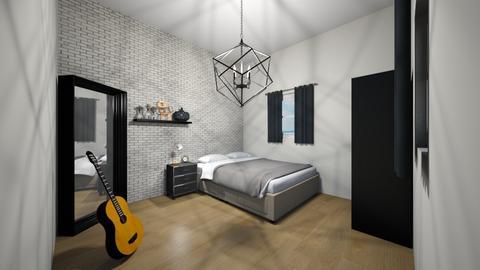 bedroom - Bedroom - by AfroditeGoldie