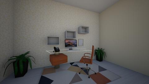 Oranges - Modern - Office  - by Gabigaill