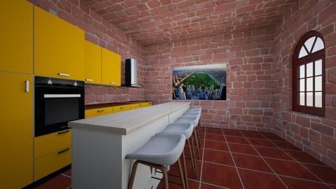 kitchen 1 - Classic - Kitchen - by arichard25