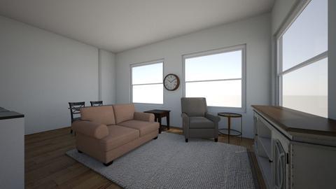 Gloria apartment - Living room  - by susan koceski