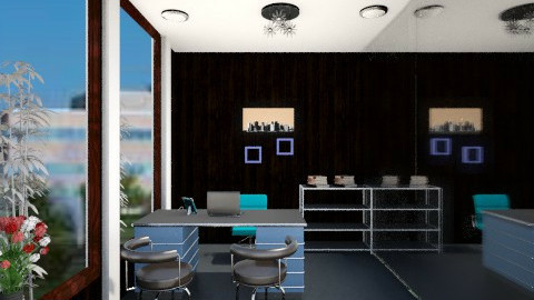 PRINCIPLES OFC DESK AREA - Modern - Office - by Lorali