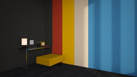 Bauhaus I - Modern - Office  - by ashenswan