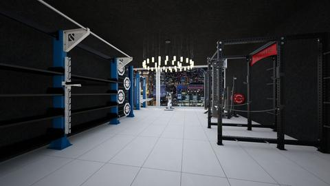 Gym - Modern - by jasminecalloway