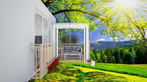 Small Home Patio garden  - Garden  - by khinphyucinhtet