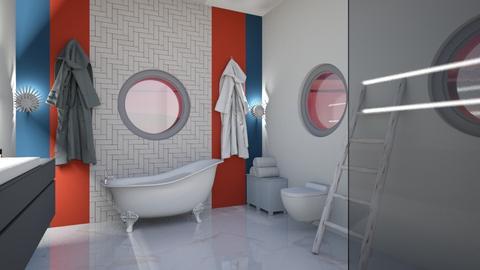 Nautical Bathroom - Classic - Bathroom  - by TortillaChip