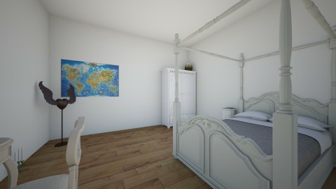 rose - Classic - Bedroom - by sogol salimi