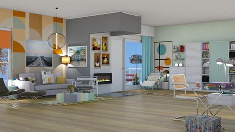 Bauhaus studyroom - by nat mi