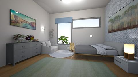 private recovery room - Modern - Bedroom  - by kat1016