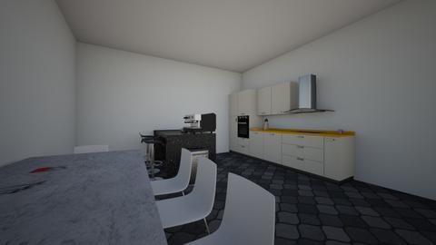 Modern kitchen - Modern - Kitchen  - by Kyla187