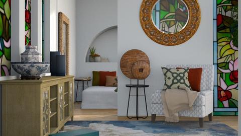 Art Nouveau - Bedroom  - by ilikalle