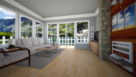 Modern Living Room - Living room - by Carthaginian