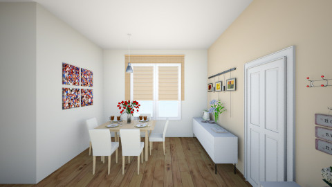 melody dining room1 - Modern - Dining room - by chenlei