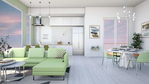 single A P T KRN - Living room  - by diegobbf