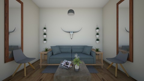 rustic living - Living room - by molly528