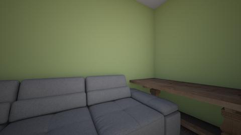 badly placed room - Living room  - by ellavanschoyck