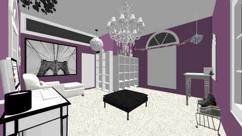 Closet Room - Glamour - Bedroom  - by emlaxer19
