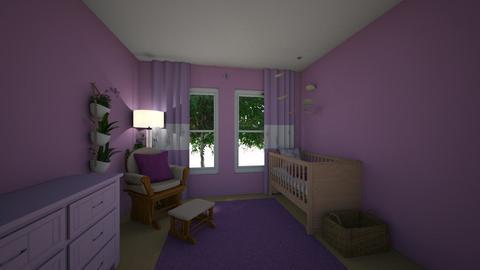 Purple Nursery - by ellierocks13