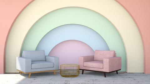 Rainbow simple - Modern - Living room  - by matildabeast