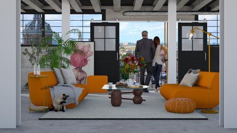 Kingsday - Modern - Living room  - by HenkRetro1960