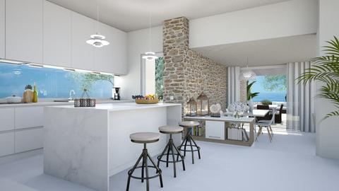 514 - Modern - Kitchen  - by Claudia Correia